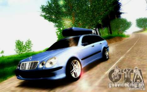 Mercedes-Benz E55 AMG для GTA San Andreas