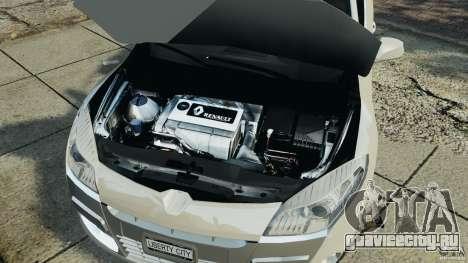Renault Megane Coupe для GTA 4 вид изнутри
