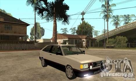VW Gol GTS 1989 для GTA San Andreas вид сзади