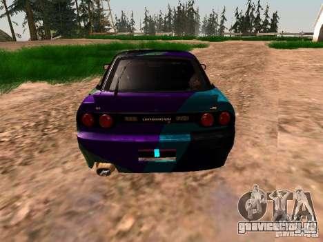 Nissan Sil80 Nate Hamilton для GTA San Andreas вид сзади