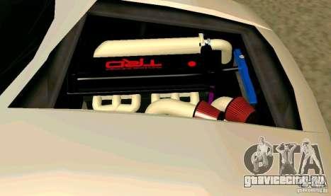 New Infernus для GTA San Andreas вид снизу