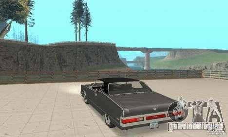 Mercury Marquis 2dr 1971 для GTA San Andreas вид сзади слева