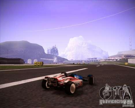 Track Mania Stadium Car для GTA San Andreas вид слева