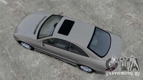 Mercedes-Benz CLK 55 AMG Stock для GTA 4 вид справа