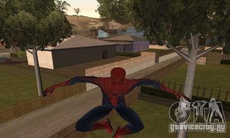 The Amazing Spider-Man Anim Test v1.0 для GTA San Andreas второй скриншот