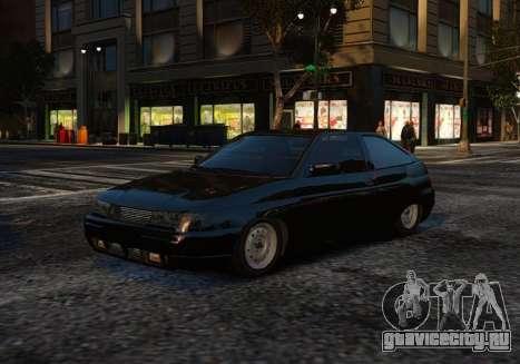 ВАЗ 2112 Купе для GTA 4 вид снизу