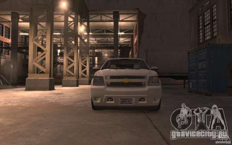 Chevrolet Avalanche v1.0 для GTA 4 вид сзади