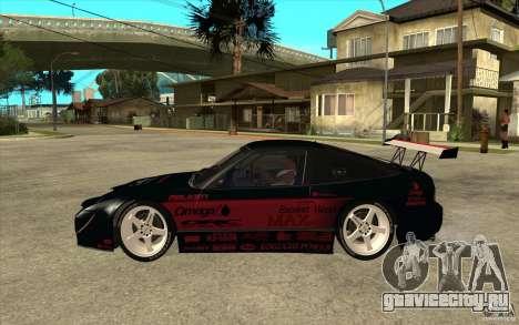 Nissan 180SX - Koguchi Power для GTA San Andreas вид слева
