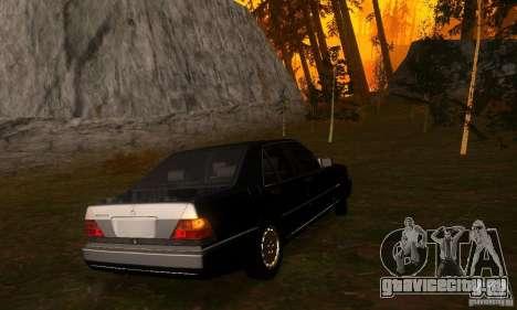 Mercedes-Benz 600SEL v2.0 для GTA San Andreas вид справа