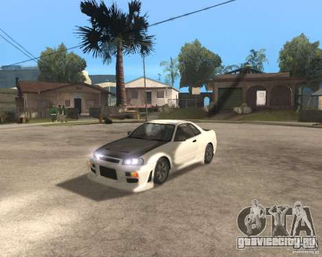 Nissan Skyline R-34 TUNED для GTA San Andreas