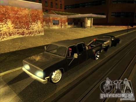Chevrolet Silverado Towtruck для GTA San Andreas вид сверху