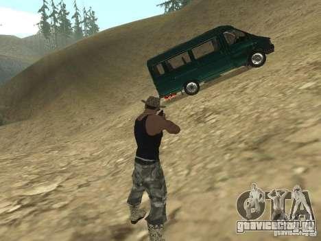 ГАЗ 32213 для GTA San Andreas вид сбоку