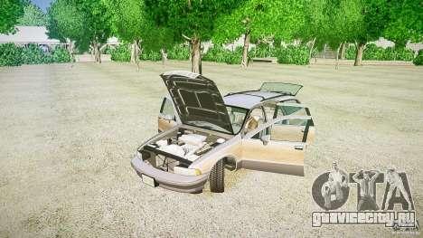 Chevrolet Caprice Civil 1992 v1.0 для GTA 4 вид сбоку