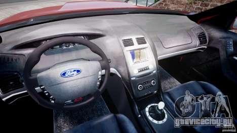 Ford Falcon XR-8 для GTA 4 вид сзади
