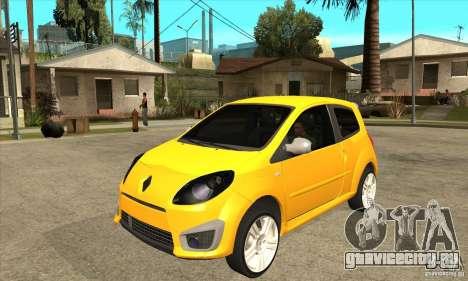 Renault Twingo RS 2009 для GTA San Andreas