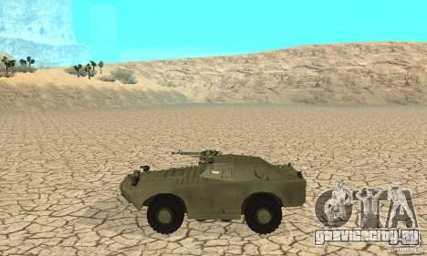 БРДМ-1 Скин 1 для GTA San Andreas вид сзади слева