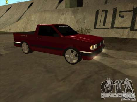 Volkswagen Saveiro Summer для GTA San Andreas вид слева