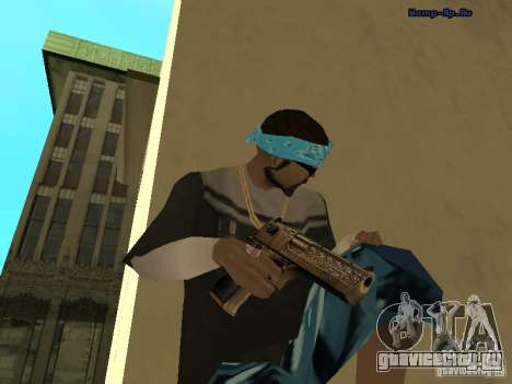 Золотой Дигл для GTA San Andreas