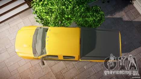 Ford F350 Stock для GTA 4 вид справа