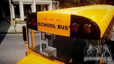 School Bus [Beta] для GTA 4 салон