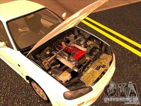Nissan Skyline R34 Tunable для GTA San Andreas двигатель
