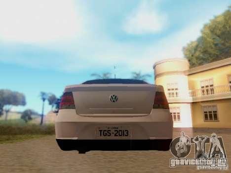 Volkswagen Voyage G5 Roda Passat CC для GTA San Andreas вид справа