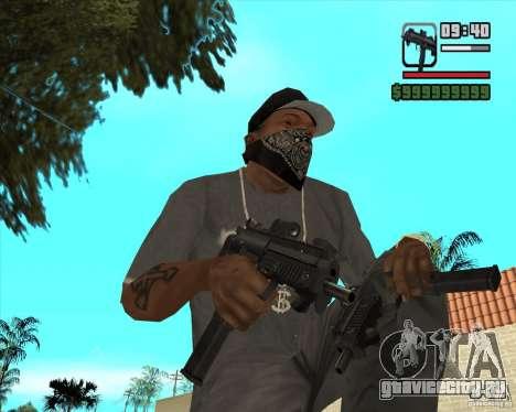 New Micro uzi HD для GTA San Andreas второй скриншот