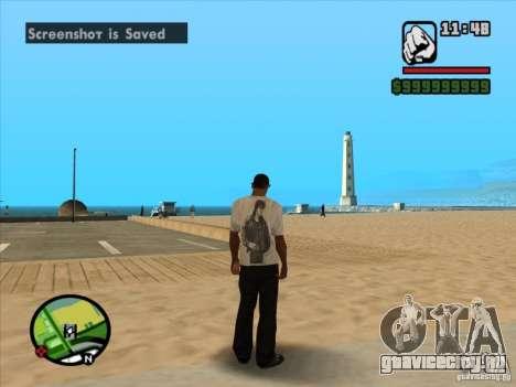 Футболка КИНО для GTA San Andreas четвёртый скриншот