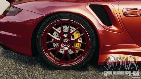 Porsche 997 GT2 Body Kit 1 для GTA 4 вид сбоку
