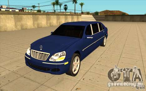 Mercedes-Benz S600 Pullman W220 для GTA San Andreas