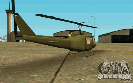 UH-1D Slick для GTA San Andreas вид справа