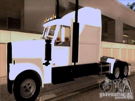 Western Star 4900EX skin 1 для GTA San Andreas вид слева