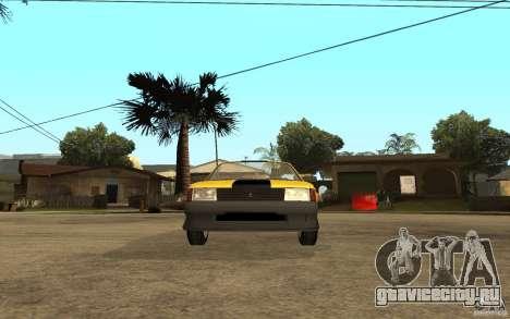 Москвич 2141 Cabriolet для GTA San Andreas вид сзади