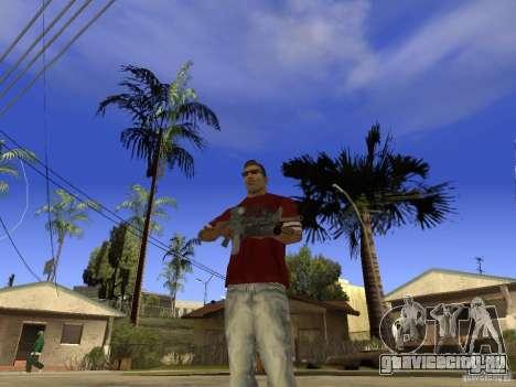 M4 Arma для GTA San Andreas второй скриншот