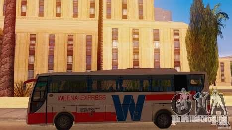 Weena Express для GTA San Andreas вид слева