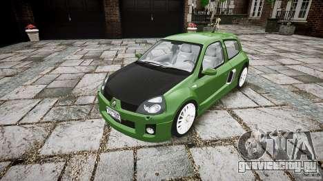 Renault Clio V6 для GTA 4