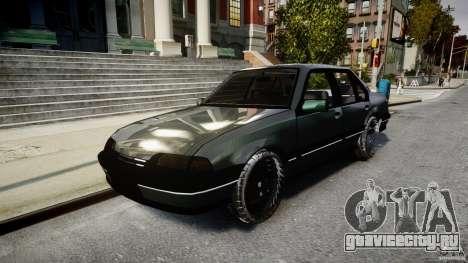 Chevrolet Monza GLS 96 для GTA 4