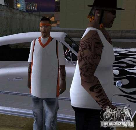 Замена банд, татуировок, одежды и т.п. для GTA San Andreas одинадцатый скриншот