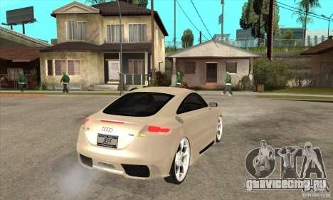 Audi TT Quattro 2007 для GTA San Andreas вид справа