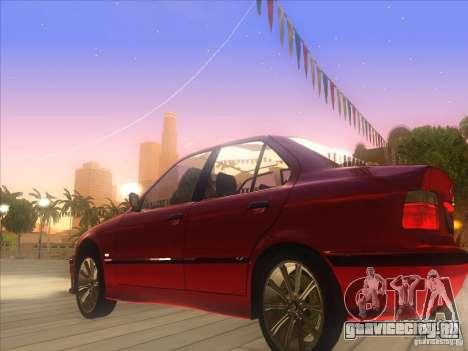 BMW E36 для GTA San Andreas вид слева