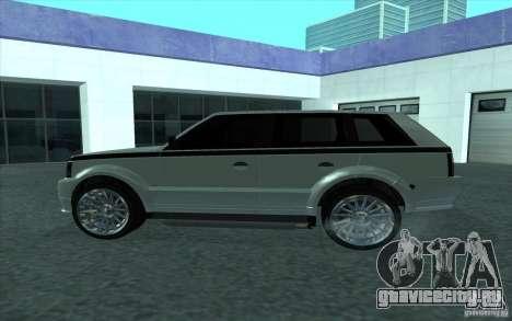 Huntley из GTA 4 для GTA San Andreas вид слева