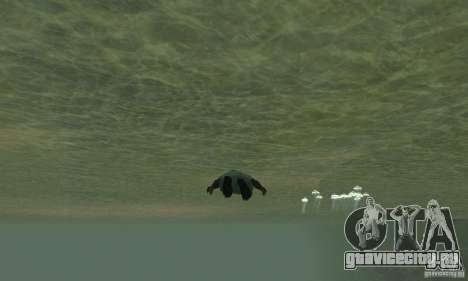 Tropic Water Mod для GTA San Andreas третий скриншот