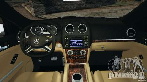 Mercedes-Benz ML63 (AMG) 2009 для GTA 4 вид сзади
