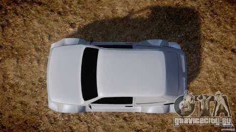 Fiat 126p Bis Rally для GTA 4 вид справа