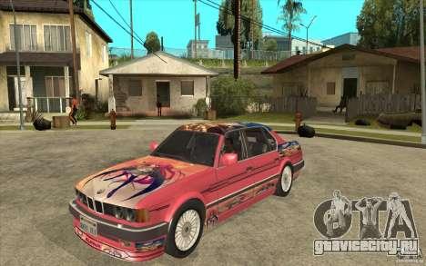 BMW E32 7-er Alpina B12 для GTA San Andreas вид слева