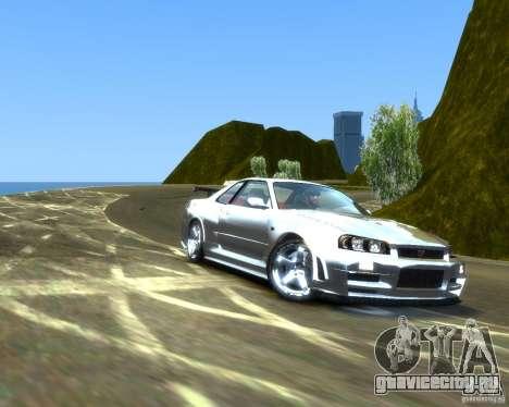 Rocky Drift Island для GTA 4 второй скриншот