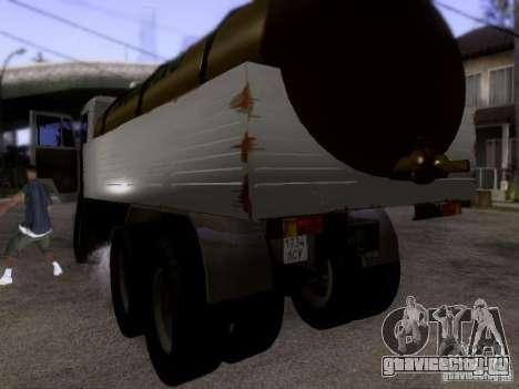 КамАЗ 53212 Молоковоз для GTA San Andreas вид сзади слева