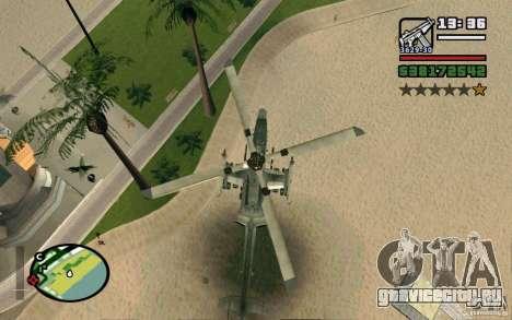 Bell AH-1Z Viper для GTA San Andreas вид справа