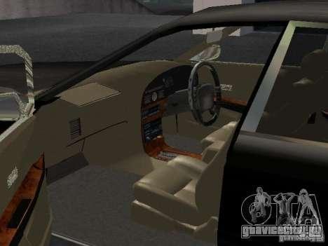 Nissan President JS для GTA San Andreas вид изнутри