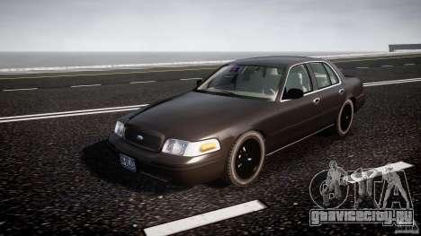 Ford Crown Victoria 2003 v2 FBI для GTA 4